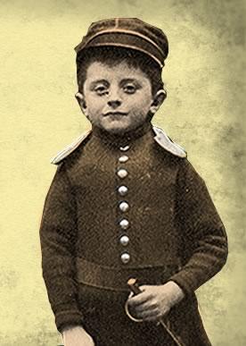 Le petit Louis dans la guerre